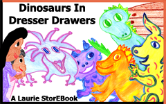Dinosaurs In Dresser Drawers